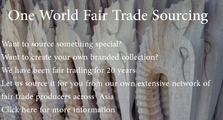 One World is Enough Fair Trade Sourcing
